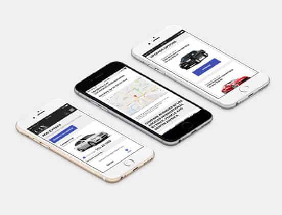 מיתוג עסקי לחברה אמריקאית בתחום השכרת רכב 3