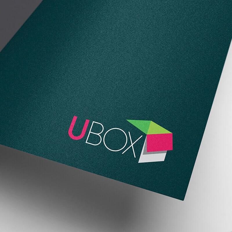 UBOX מיתוג לוגו לעסק