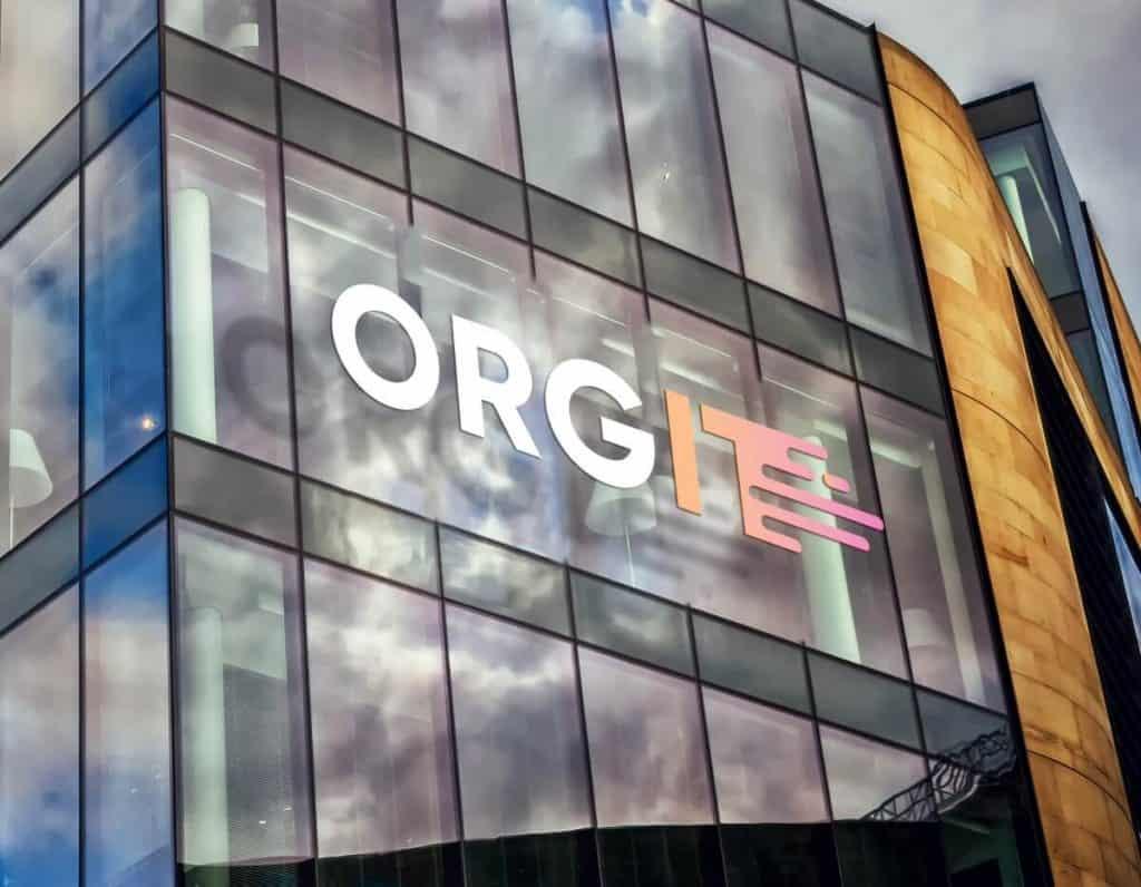 חלק מתהליך מיתוג עסק חדש orgit